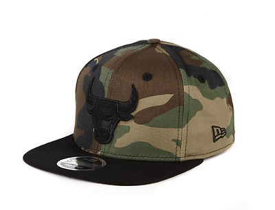 New Era 9Fifty Snapback Camo Chicago Bulls