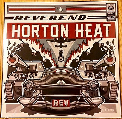 Reverend Horton Heat - Rev - Vinyl Lp - New And Sealed