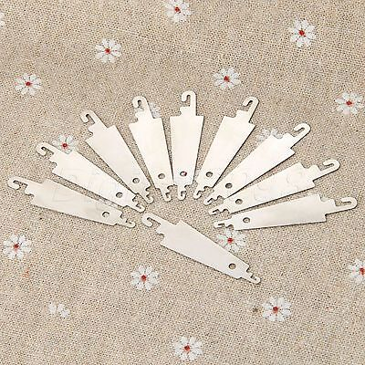 10 pcs Steel Hook Needle Threader for Hand Sew Embroidery Cross Stitch Craft