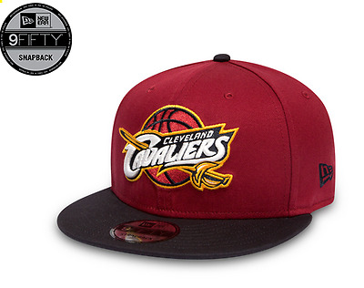 Casquette New Era 9Fifty Snapback Réglable Cleveland Cavaliers