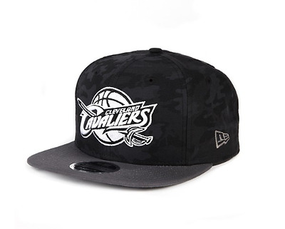 New Era 9Fifty Snapback Black Camo Cleveland Cavaliers