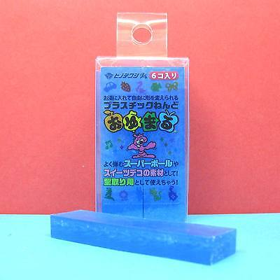 Oyumaru Modeling Compound Moulding Stick [Sky Blue] 6pcs/set