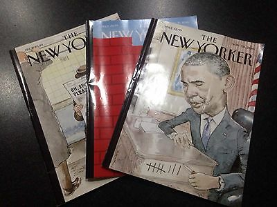 New Yorker Magazine 3 Copies November 2016 Aftermath of US Election