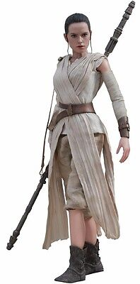 Movie Masterpiece Star Wars The Force Awakens REY 1/6 Action Figure Hot Toys NEW