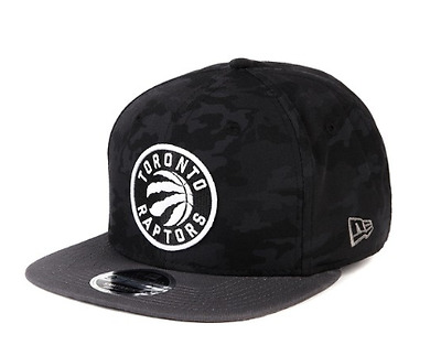 New Era 9Fifty Snapback Black Camo Toronto Raptors