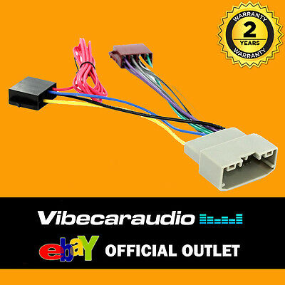 jeep commander 2008-2010 car stereo radio wiring harness iso loom ct20jp03