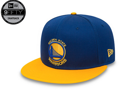 Casquette New Era 9Fifty Snapback Réglable Golden State Warriors