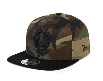 New Era 9Fifty Snapback Camo Golden State Warriors