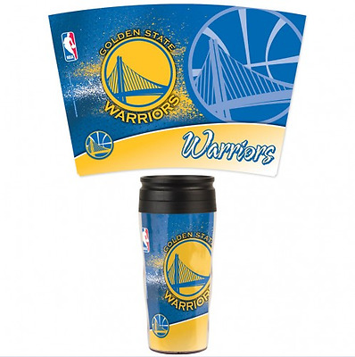 Travel Mug Team Logo Golden State Warriors
