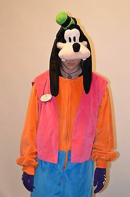 Disney Goofy Costume, One Size Fits Most, Authentic, Theme Park, Hotel, Mascot