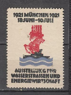 1925 Munchn (Germany) Poster Stamp Mint No Gum ( For Condition See Scan )