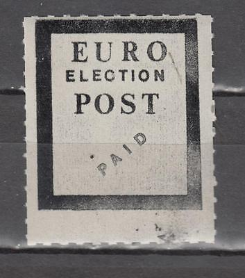 1984 Postal Strike Euro Election Post PAID Unmounted Mint Full Gum ( For Conditi