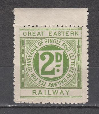 Great Eastern Railway 2d Fee For Conveyance Of Single Post Letters By Railway St