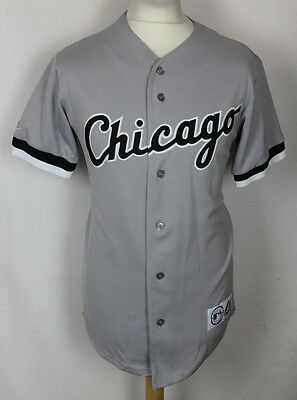 Vintage Chicago White Sox Baseball Jersey Mens Small Majestic