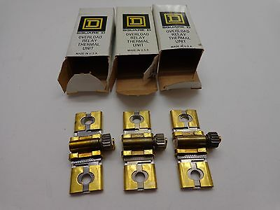 Square D B 22 Overload Relay Thermal Unit B22 785901 (Lot of 3 )
