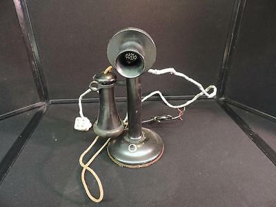 WESTERN ELECTRIC Candlestick Telephone Phone, 1915, Antique Steampunk