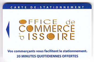 Piaf Parking Carte / Card .. 20Mn Issoire 63 Oci V° 10Ln Magnetique