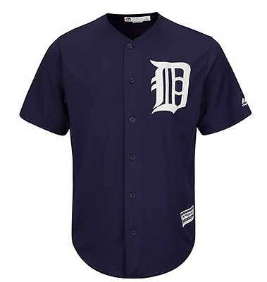 Majestic Mlb Cool Base Replica Detroit Tigers Alternate Jersey