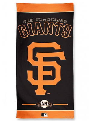 Serviette De Plage Mlb San Francisco Giants ( Verticale )