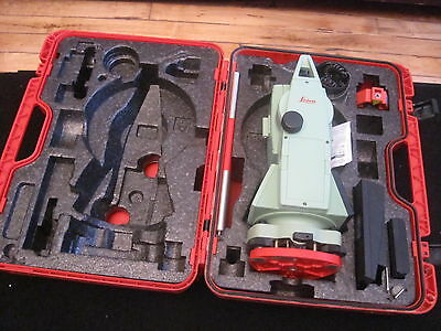Leica Model TC307 1 Total Station  WORLDWIDE SHIPPING