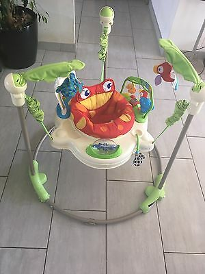Fisher Price Jumperoo Rainforest Grenouille Complet Fonctionne Photos