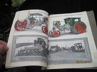 Vintage Minneapolis Steam Engine Tractors Threshers Equipment Booklet