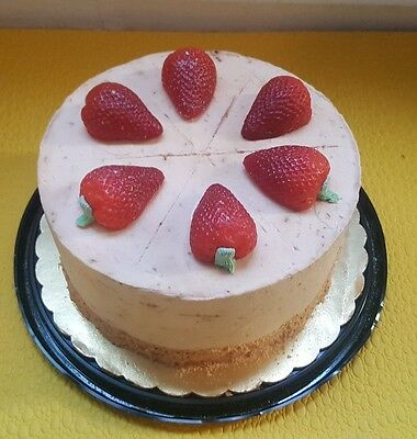 prop cake fake cake strawberry short cake