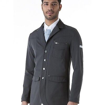 Animo mens Show Competition Jacket Grey i-50 uk40 chest BN