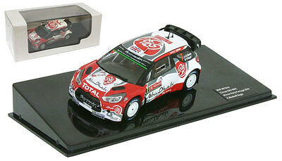 IXO Citroen DS3 WRC #7 Winner Portugal Rally 2016 - Kris Meeke 1/43 Scale