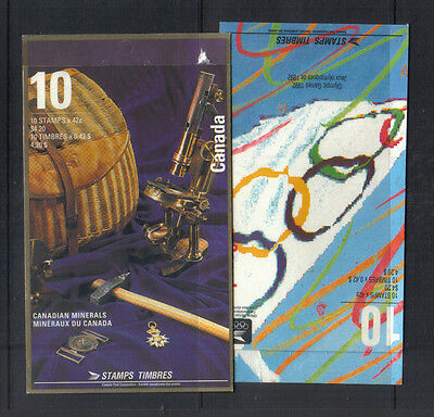 Canada 1992 Two mint booklets