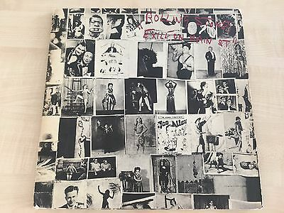 Rolling Stones Exile On Main Street 1972 vinyl 2LP 1st press COC 69100 postcards