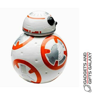 OFFICIAL LICENSED STAR WARS 3D BB-8 DRIOD CERAMIC MONEY BOX BANK gift