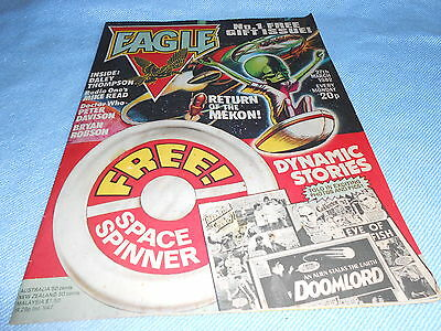 Vintage CLASSIC UK COMIC - EAGLE No.1 FIRST ISSUE (DAN DARE) - 27th March 1982