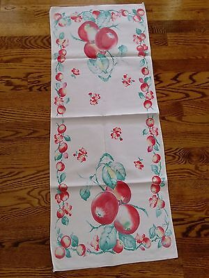 Beautiful Vintage Table Runner Early 50's