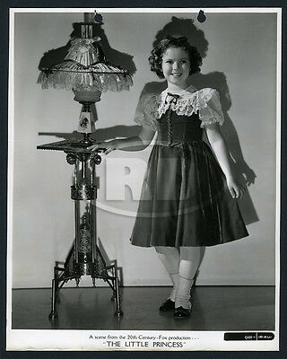 1938 Original Shirley Temple 20th-Fox Keybook Portrait Photo - Little Princess