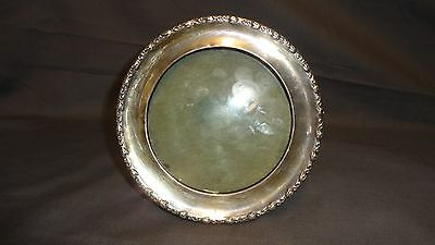 "Antique Sterling Silver Round 5.75"" Picture/Photo Frame - London 1911"