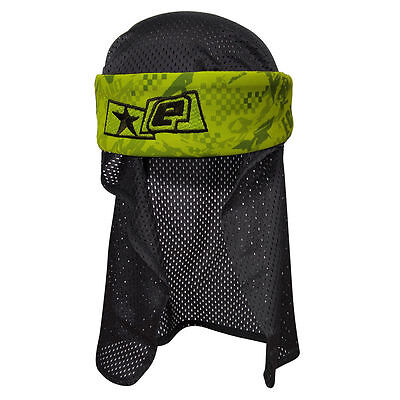 Planet Eclipse Fracture Headwrap Lime (Ships from Canada)