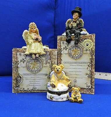 Lot of 3 pcs from Boyds Bears, UFDC 204-2017