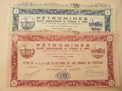 """Lot 2 Differents. """" Petromines."""""""