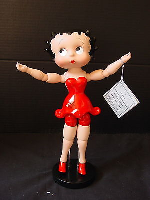 Danbury Mint ~ Betty Boop ~ Fleischer Studios  ~ Posable Porcelain Doll ~ NIB