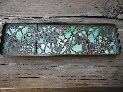 Tiffany Studios Grapevine Pen Tray