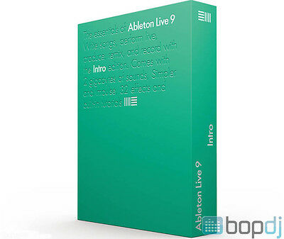 Ableton Live 9 Intro Edition - Production Performance DAW Software (Download)