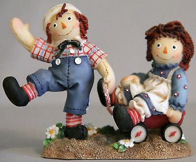 Raggety Ann & Andy Bumpy Roads are Easier When We are Happy Inside 91RA776