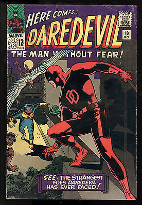 Daredevil (1964) #10 1st Print 1st Ani-Men Stan Lee Wally Wood Cover & Art VG