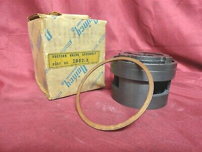 New * QUINCY Genuine Part 2002X VALVE PLATE to HEAD GASKET New in ORIGINAL BOX