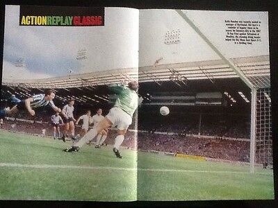 STUNNING A3 Football action poster HOUCHEN GOAL Coventry City v Spurs Cup Final