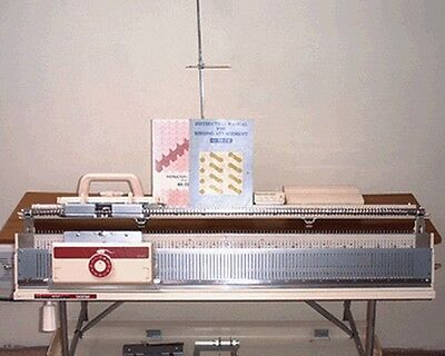 Brother KH230 Chunky Knitting Machine and KR230 RIbber