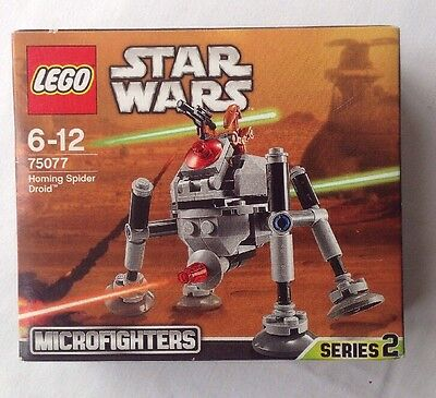 Lego Star Wars Microfighters Series 2 - 75077 Homing Spider Droid *new & Sealed*