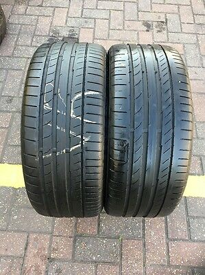 225 40 18 92Y XL Continental ContiSportContact 5 2x Tyres A Pair