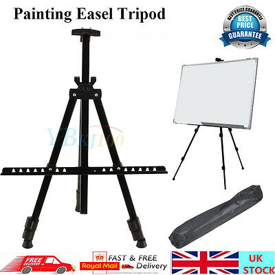 Adjustable Metal Tripod Folding Easel Display Art Sketch Painting Exhibition Hot